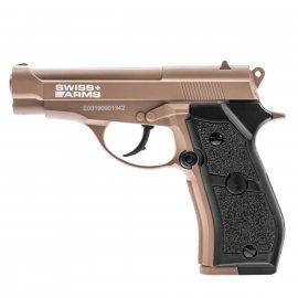 Wiatrówka Pistolet Swiss Arms P84 TAN CO2 4,5mm