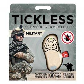 Odstraszacz kleszczy TickLess Military  dla żołnierzy beżowy