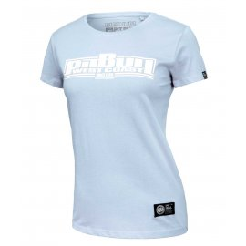 Koszulka damska Pit Bull Boxing - Błękitna