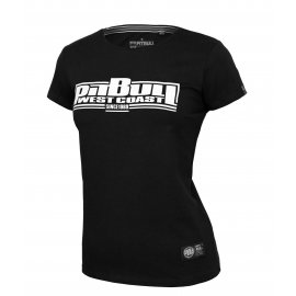 Koszulka damska Pit Bull Classic Boxing '21 - Czarna
