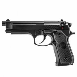 Pistolet 6mm ASG M92F Heavy Weight Green Gas Black