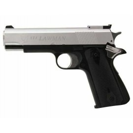 Pistolet ASG GG STI Lawman Black/Silver