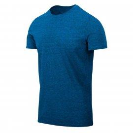 t-shirt Helikon Slim - Niebieski Melanż