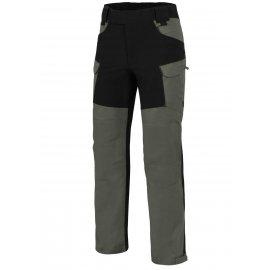 spodnie Helikon Hybrid Outback Duracanvas - Zielone/Czarne