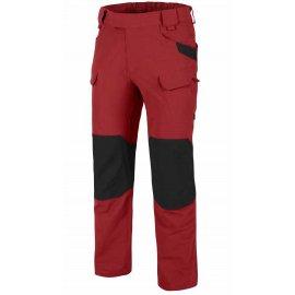 spodnie Helikon OTP Nylon Czerwone / Czarne
