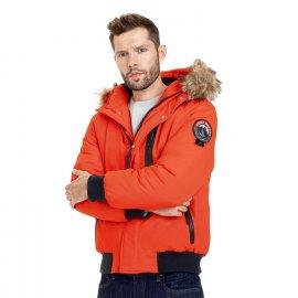 Zimowa kurtka z kapturem Pit Bull Firethorn '21 - Pomarańczowa