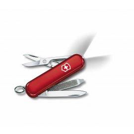 Scyzoryk Victorinox SwissLite z latarką, czerwony