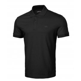 Koszulka Polo Pit Bull Slim Logo '21 - Czarna