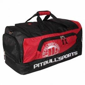 Torba treningowa Pit Bull PB Sports - Czarna/Czerwona