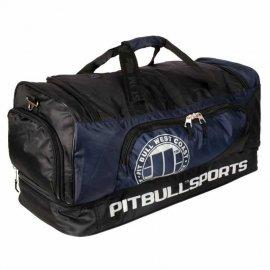 Torba treningowa Pit Bull PB Sports - Czarna/Granatowa