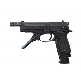 Pistolet 6mm ASG GBB Beretta M93R II Czarny