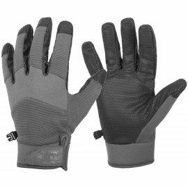rękawiczki taktyczne Helikon Impact Duty Winter Mk2 - Szare/Czarne
