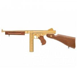 wiatrówka - pistolet maszynowy Thompson Legends M1A1 4,5 mm semi-auto złoty