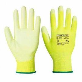 Rękawica powlekana PORTWEST A120 PU Żółty