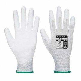 Rękawica antystatyczna powlekana PORTWEST A199 PU Szary