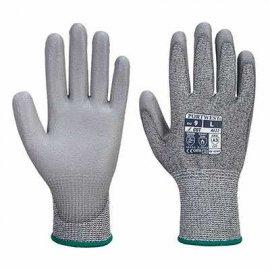 Rękawica antystatyczna PORTWEST A622 powlekana PU Szary