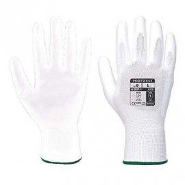 Rękawica powlekana PU PORTWEST A129 - opakowanie 12 par- biały