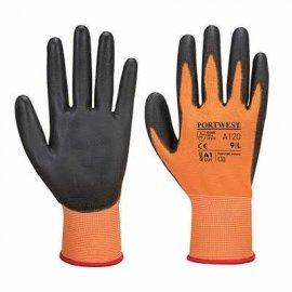 Rękawica powlekana PORTWEST A120 PU-Pomarańczowy/Czarny