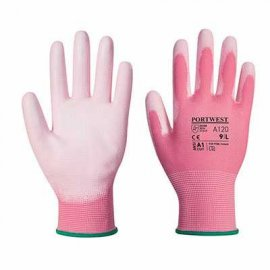 Rękawica powlekana PORTWEST 120 PU-Różowy