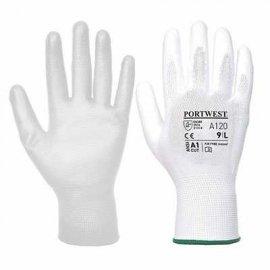 Rękawica powlekana PORTWEST A120 PU-Biały
