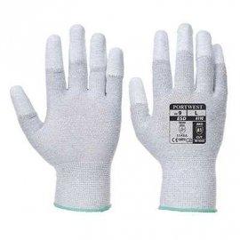 Rękawica antystatyczna z końcówkami palców powlekanymi PUm PORTWEST A198 - Biały