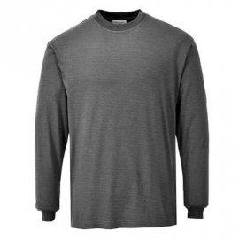 Bluza trudnopalna, antyelektrostatyczna z długimi rękawami PORTWEST FR11 - Szary