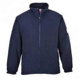 Bluza polarowa trudnopalna i antystatyczna PORTWEST FR 30 - Granatowy