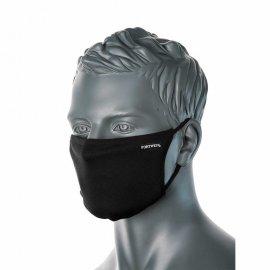 Trójwarstwowa maseczka antywirusowa PORTWEST Czarny