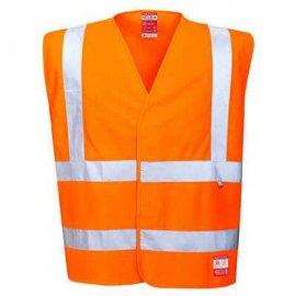 Kamizelka ostrzegawcza trudnopalna antystatyczna FR71 Portwest - Pomarańczowa