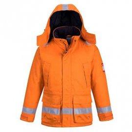 Trudnopalna i antystatyczna kurtka zimowa FR59 Portwest-Pomarańczowa