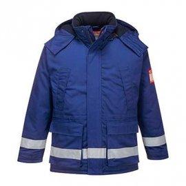 Trudnopalna i antystatyczna kurtka zimowa FR59 Portwest-Niebieski