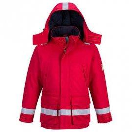 Trudnopalna i antystatyczna kurtka zimowa FR59 Portwest-Czerwony