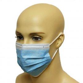 Maska medyczna PORTWEST typu IIR Niebieska