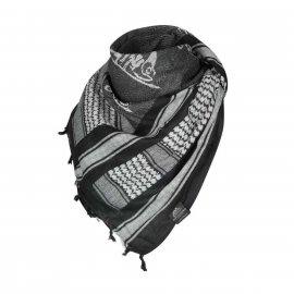 Arafatka - Shemagh Helikon biały/czarn