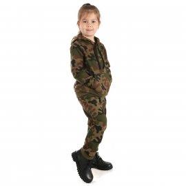 Bluza Kangurka Dresowa Dziecięcy MIRAN Junior PL Woodland