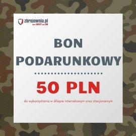 Bon podarunkowy Zbrojownia o wartości 50 zł