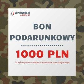 Bon podarunkowy Zbrojownia o wartości 1000 zł