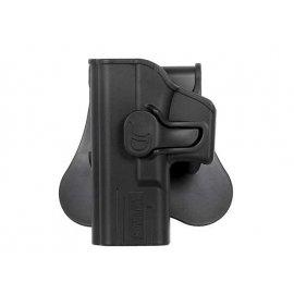 Kabura leworęczna Amomax do Glock 19/23/32 - czarna