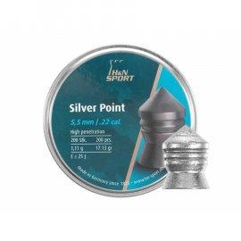 Śrut H&N 5,50mm diabolo Silver Point 200szt.