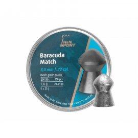Śrut H&N 5,52mm diabolo Baracuda Match 200szt.