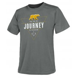 t-shirt Helikon Journey To Perfection - Szara