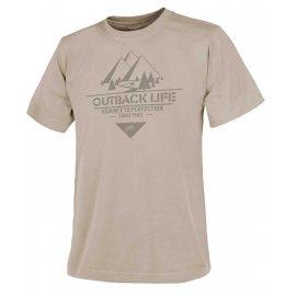 t-shirt Helikon Outback Life - Beżowa