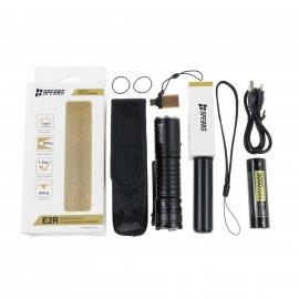 Latarka LED Speras E2R Luminus SST40 1500LM + akumulator 217000 o pojemności 5000 mAh (SPERAS E2R)