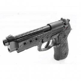 Pistolet 6mm Cybergun M92 Hex cut black gas HOPUP