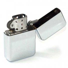 Zapalniczka Benzynowa Srebrna/chrom