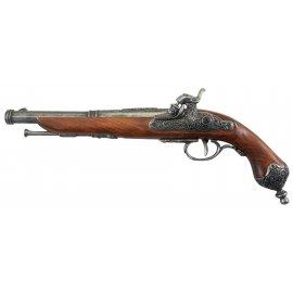 Replika dekoracyjna włoskiego pistoletu kapiszonowego z 1825 roku