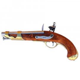 Replika dekoracyjna Denix francuskiego pistoletu kawaleryjskiego AN IX
