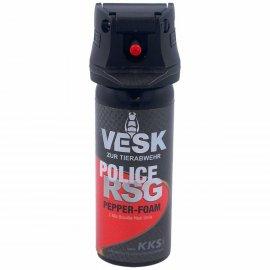 Gaz pieprzowy KKS VESK Police RSG Foam 2mln SHU 50ml