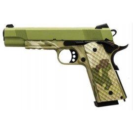 Pistolet ASG Nuprol 1911 Rail Raven Camo GBB