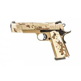 Pistolet ASG Nuprol 1911 Rail Raven Digital Desert GBB